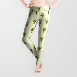 Cacti Art Leggings