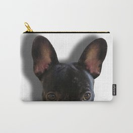 French Bulldog Peekaboo Carry-All Pouch
