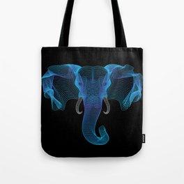 The Eloofah Elephant (Blue) Tote Bag