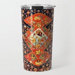 Bakshaish Antique Persian Carpet Print Travel Mug