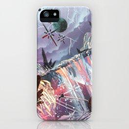 Micro/macro cosmic forst. iPhone Case