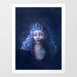 Crystal Contamination 3 Art Print