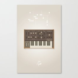 The Synth Project - Moog Prodigy - Updated Canvas Print