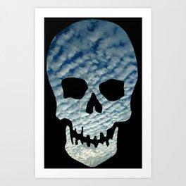 Sky Skull Art Print