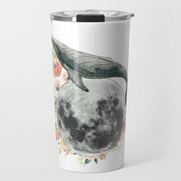 Moon Whale Travel Mug