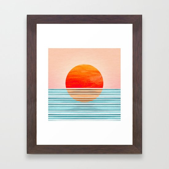 Minimalist Sunset III by kristiangallagher