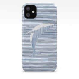 Whale Splash iPhone Case