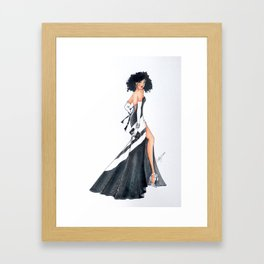 """Nicole"" Framed Art Print"
