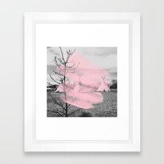Pink Texas / Marfa Framed Art Print