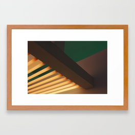 Lights #1 Framed Art Print