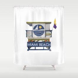 Lifesaver 002 Shower Curtain