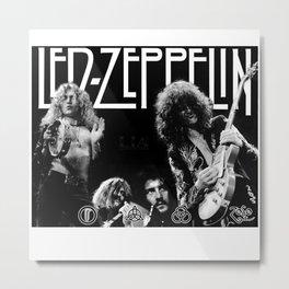zeppelin Metal Print