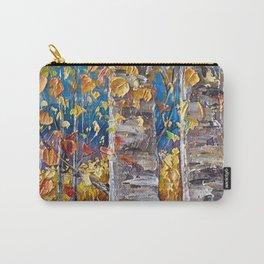 Autumn Aspen Colors Palette Knife Carry-All Pouch