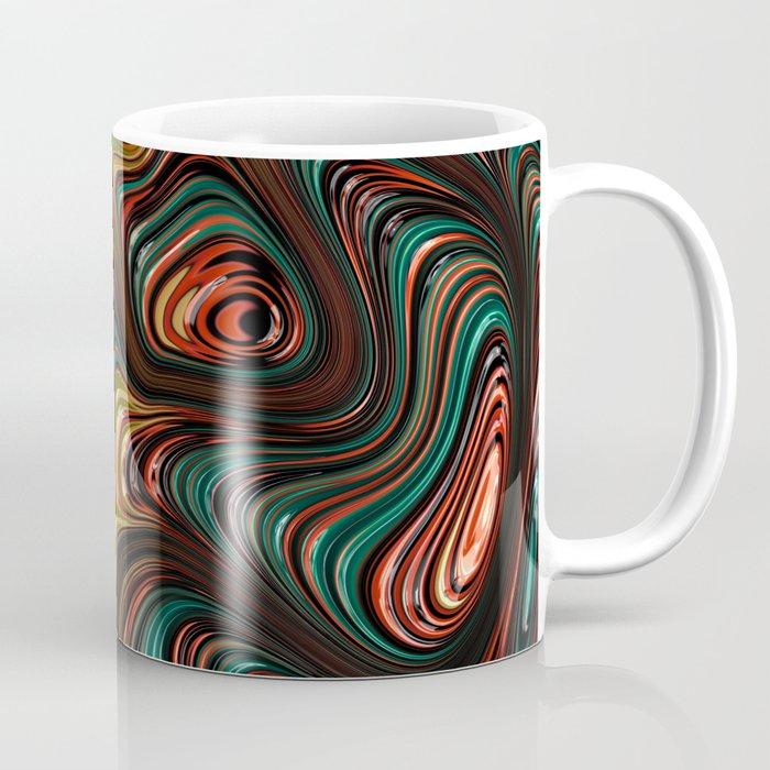 Trippy Fractal Coffee Mug