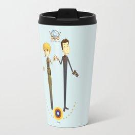 Battlestar couple Travel Mug