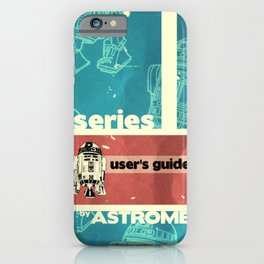 Astromech User's Guide R2-d2 iPhone Case