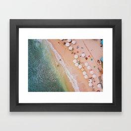 Badung Beach II Framed Art Print