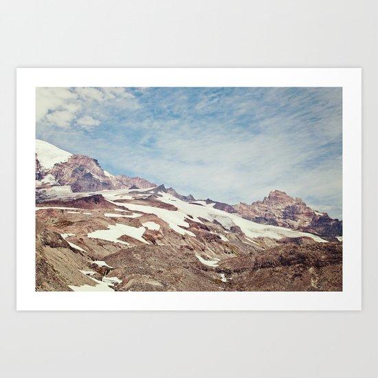 Summer Hike Art Print