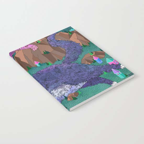 Mountain Cats Notebook