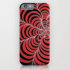 Tunnels Red and Black iPhone 6s Slim Case
