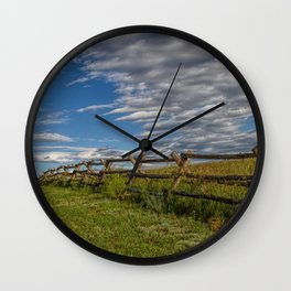 Lonesome Road Wall Clock