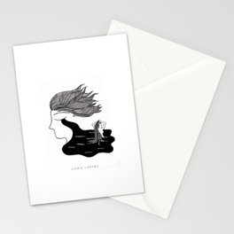 Men Cry More Stationery Cards