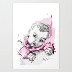 Digital Drawing #18 Art Print