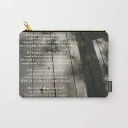 Poetry Photo Carry-All Pouch