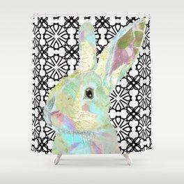 Bunny Bliss Shower Curtain