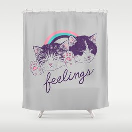 Feelings Shower Curtain