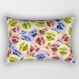 Bouncy Bouncy Pommy Pommy Rectangular Pillow