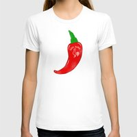sriracha T-shirts featuring Chilli Sauce by Carlitos Way
