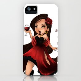 Pomba Gira iPhone Case