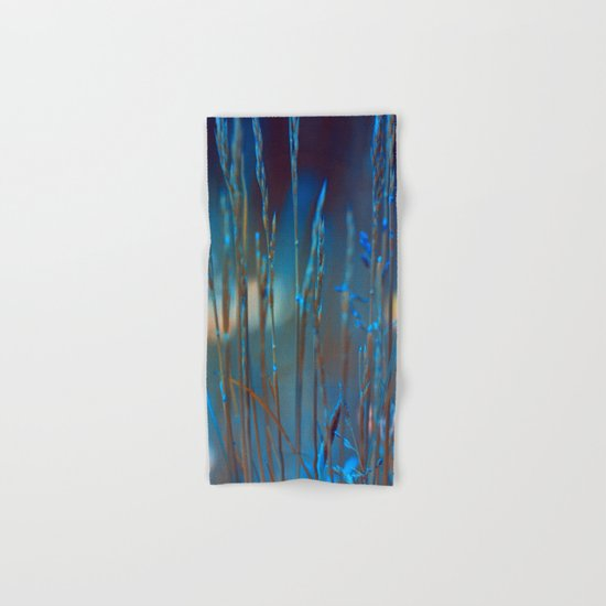 Blue dusk. Hand & Bath Towel