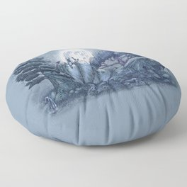 The Stone Menagerie  Floor Pillow