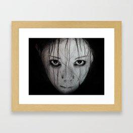 Kayako - The Grudge Framed Art Print