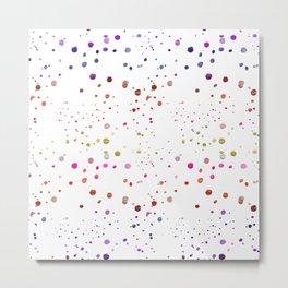spots rainbow Metal Print