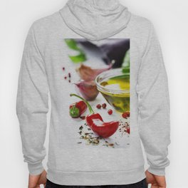 Red Chili Peppers with herbs and spices Hoody
