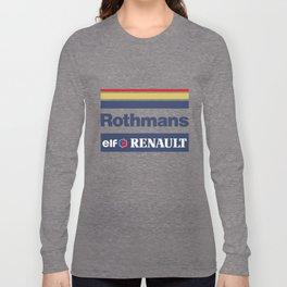 Williams F1 Rothmans Ayrton Senna Long Sleeve T-shirt