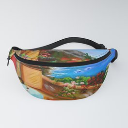 Red Door Fanny Pack