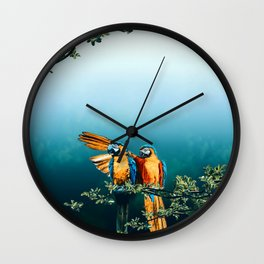 Papagaios Wall Clock