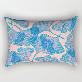 Abstraction_Ginkgo_Pattern_Minimalism_002 Rectangular Pillow