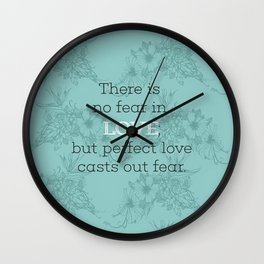No Fear 03 Wall Clock