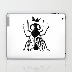 Fly Linocut Laptop & iPad Skin