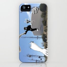 The Tree Hanger and the Flower Hanger iPhone Case
