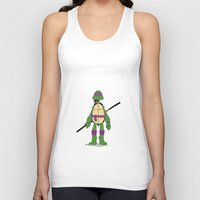 tmnt Tank Tops featuring TMNT by Shahbab