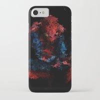 super hero iPhone & iPod Cases featuring Super hero by David