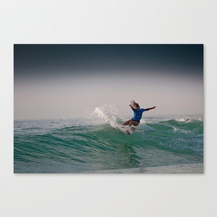 Alana Blanchard Surf, Hossegor- France - 2013 Canvas Print