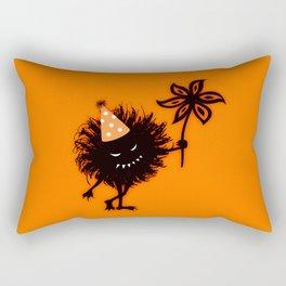 Evil Bug Halloween Party Rectangular Pillow