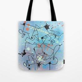 Vamp Paint Tote Bag